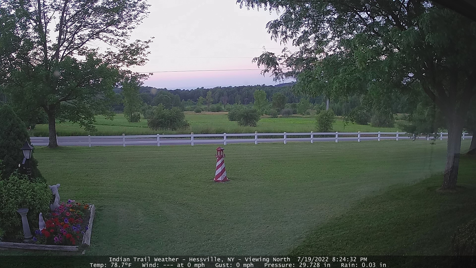 Indian Trail Weather Webcam - Viewing North
