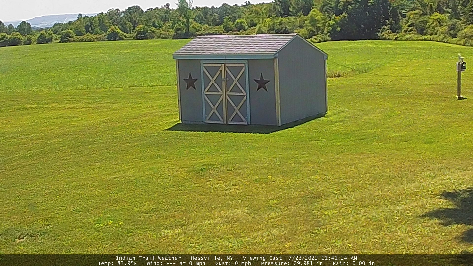 Indian Trail Weather Webcam - Viewing South