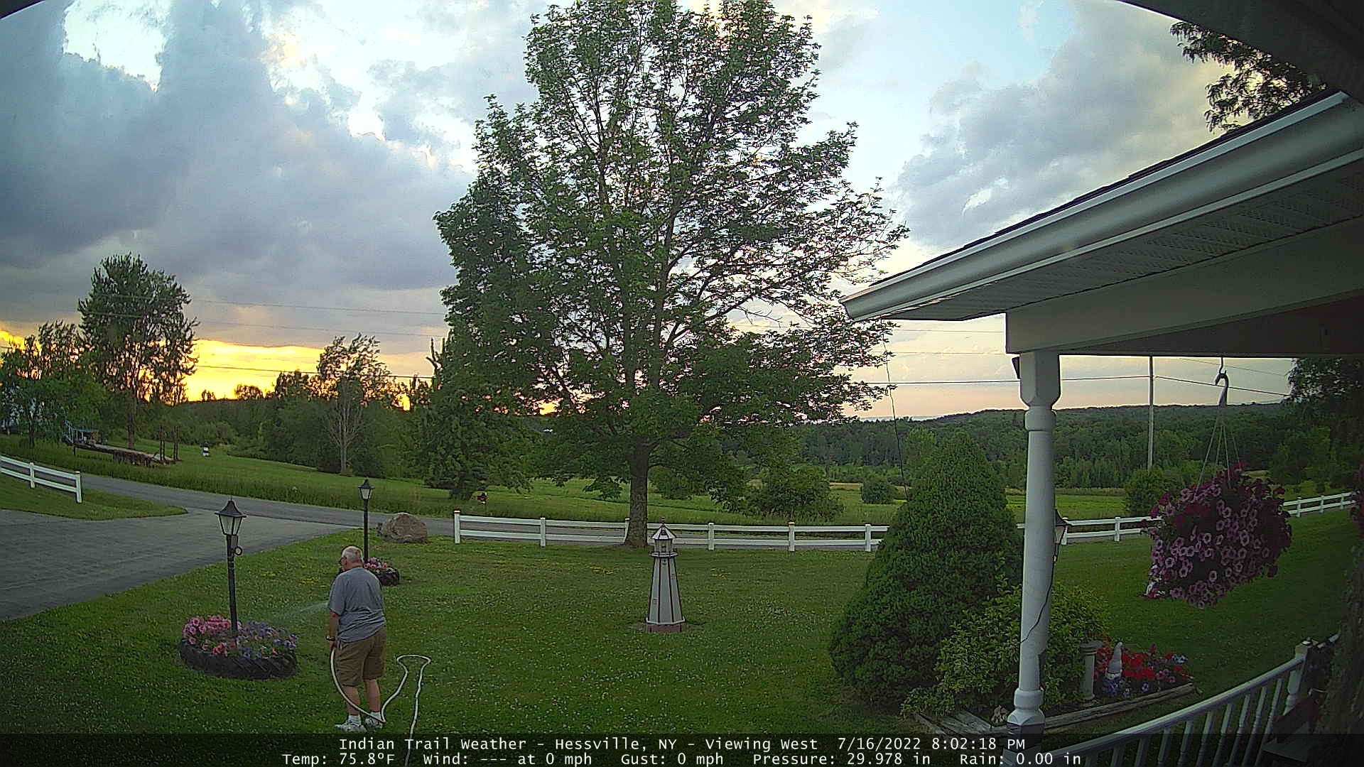 Indian Trail Weather Webcam - Viewing West