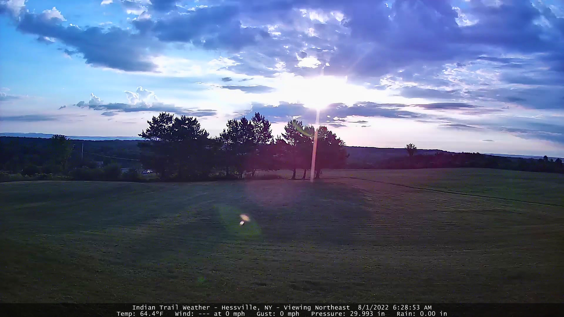 Indian Trail Weather Webcam - Viewing Northeast